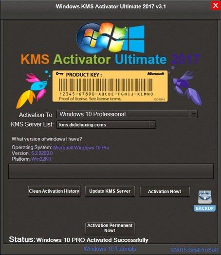 Windows KMS Activator Ultimate 2018 v4.2