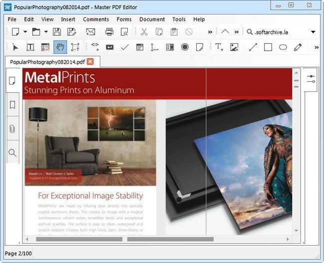 Code Industry Master PDF Editor 4.1.20 Multilingual + Portable