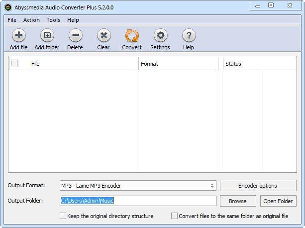 AbyssMedia Audio Converter Plus v5.3.0.0 Portable