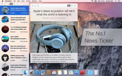Newsflow 1.4.7 MacOSX