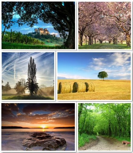 A selection of beautiful nature landscapes part (1)