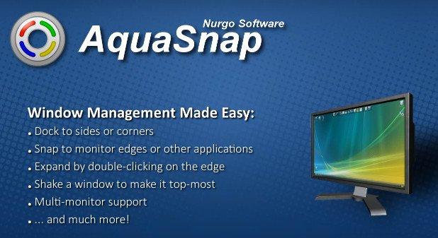 AquaSnap Pro 1.23.10  [Multilenguaje] [UL.IO] Z7QocDMkFZNV6AFO8TXfqVGB8pFnMY6l