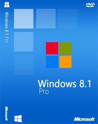 Microsoft Windows 8.1 Professional Multilingual August 2017 Pre-Activated