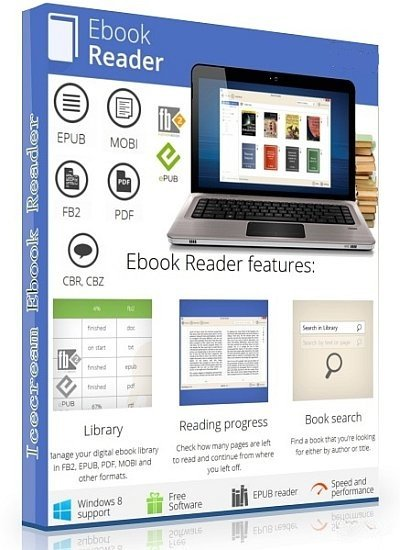 Icecream Ebook Reader Pro 4.55 Multilingual + Portable