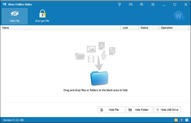 Download Wise Folder Hider 4 Portable Free