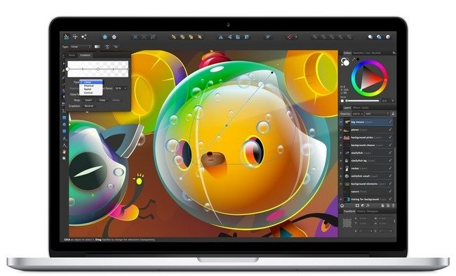 Serif Affinity Designer 1.5.5 Multilingual MacOSX