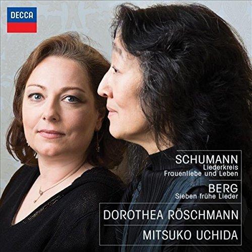 Dorothea Roschmann & Mitsuko Uchida - Schumann & Berg Lieder (2015) [24-96 FLAC]