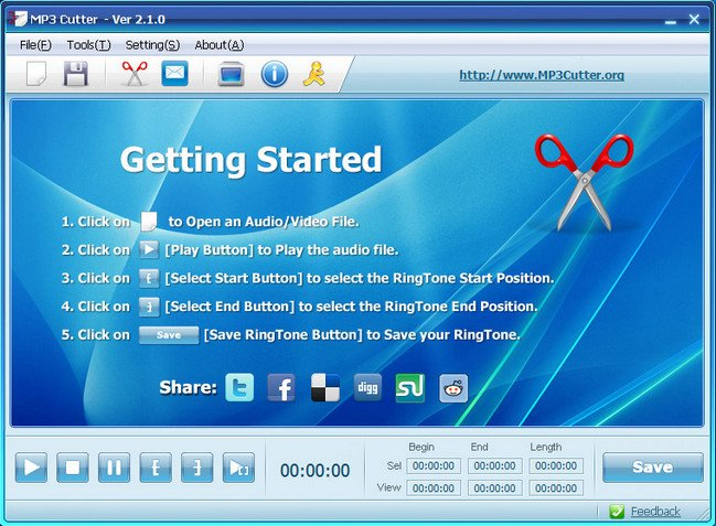 MP3 Cutter 2.1.0 with Registration Code Full Version Free Download