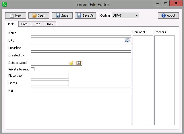Torrent File Editor 0.3.12