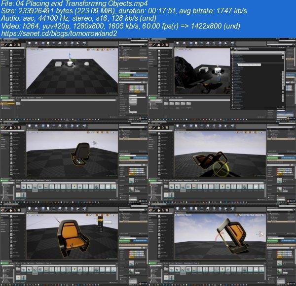 Download MackleyStudios – Unreal Engine 4 Volume 1: A Tour