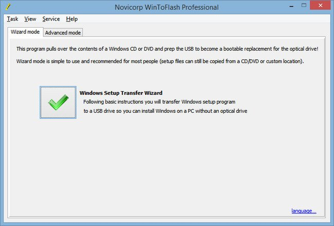 WinToFlash Professional 1.9.0001 Multilingual + Portable