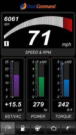 DashCommand - OBD-II gauge dashboards, scan tool v4.6.19