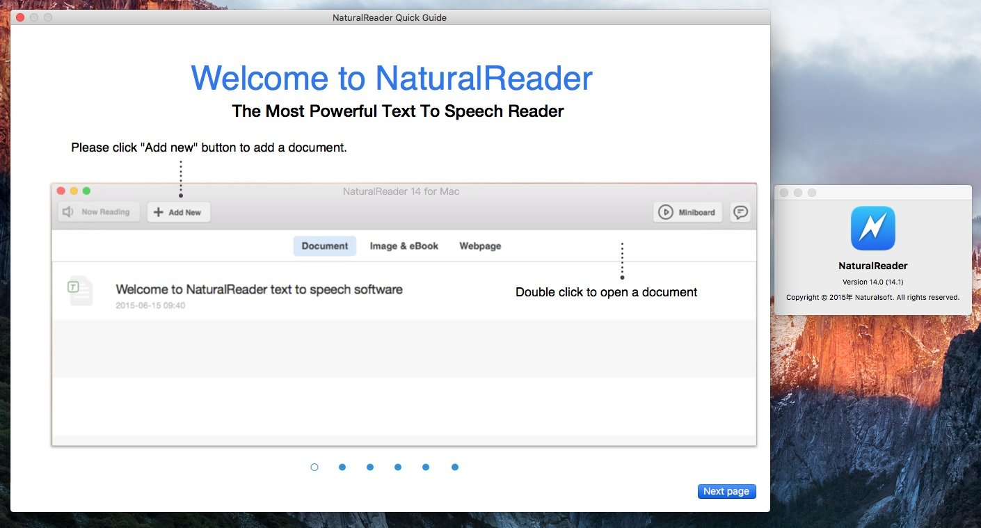 natural reader professional for mac