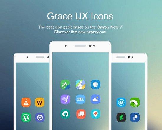 Grace UX - Icon Pack v5.5.5