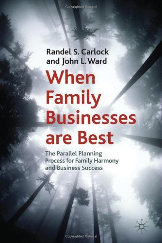 When Family Businesses Are Best: The Parallel Planning Process for Family Harmony and Business Success!