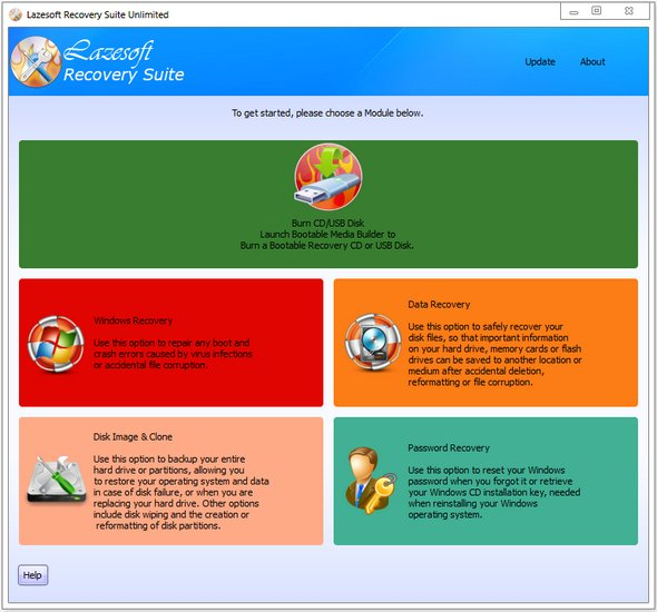 Lazesoft Recovery Suite 4.2.1 Unlimited Edition Portable