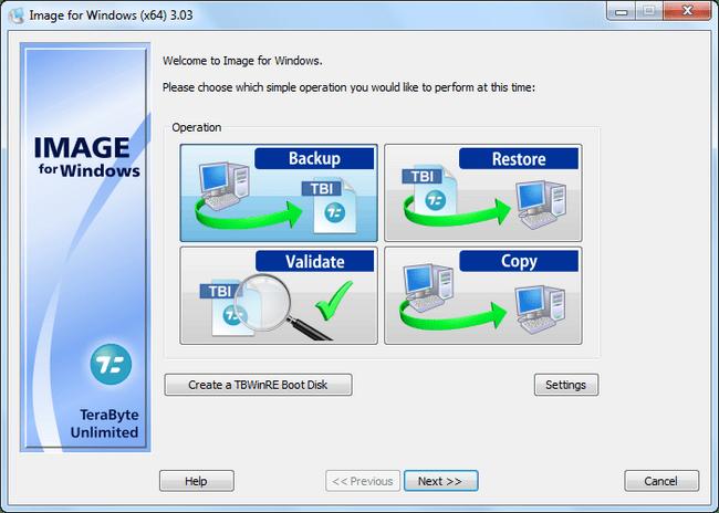 Resultado de imagen de TeraByte Drive Image Backup and Restore Suite 3