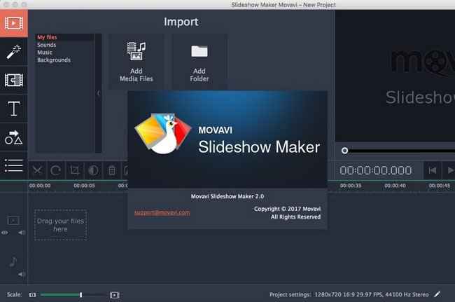Movavi Slideshow Maker 2.0 Multilingual MacOSX
