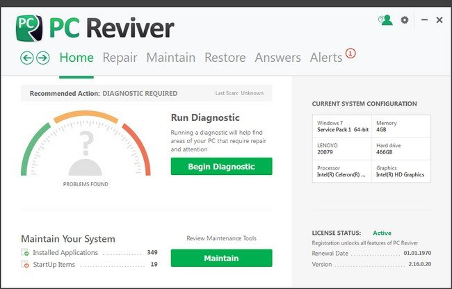ReviverSoft PC Reviver 2.16.1.2 (x86x64) Multilingual