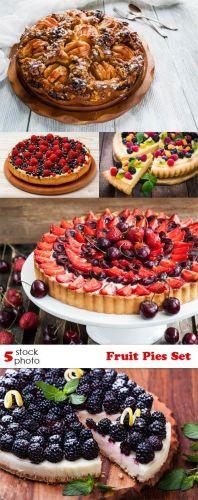 Photos - Fruit Pies Set