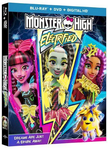 Monster High Electrified 2017 BDRip X265 Ac3-GANJAMAN
