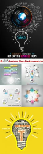 Vectors - Business Ideas Backgrounds 30