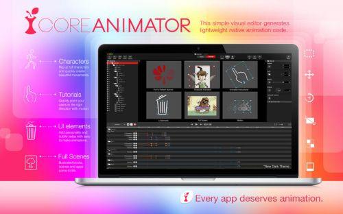 Core Animator 1.4 MacOSX