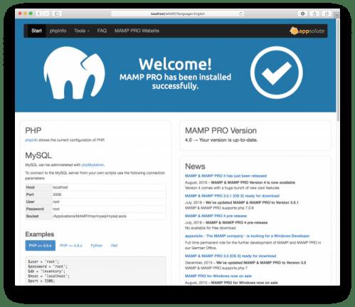 MAMP PRO 4.1.1 MacOSX