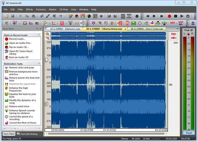 Diamond Cut Audio Restoration Tool 10.07