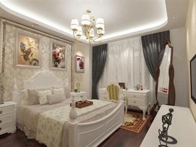 Bedroom Interior Scene for 3ds Max, part 5