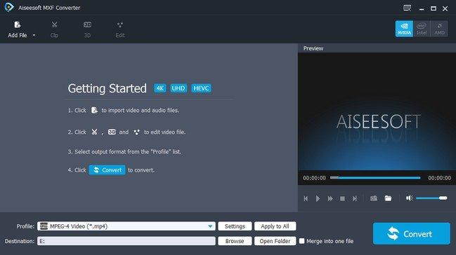 Aiseesoft MXF Converter 9.2.16 Multilingual + (Portable)