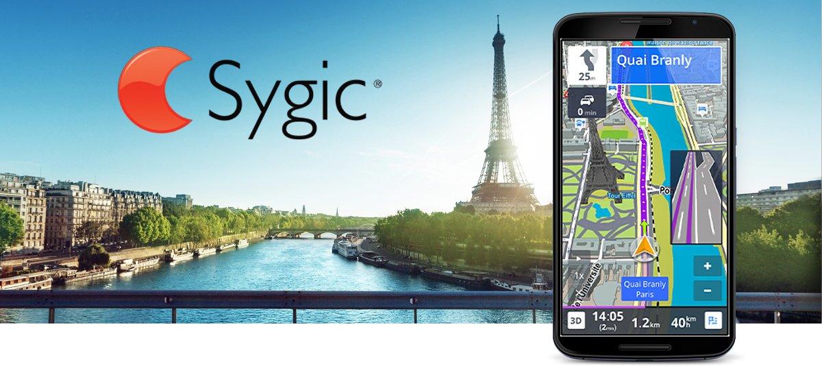 GPS Navigation & Maps Sygic Full v17.0.6