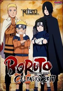 Boruto, Naruto the Movie - Official Calendar 2017