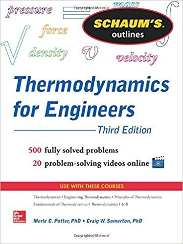 Schaums Outline of Thermodynamics for Engineers, 3rd Edition