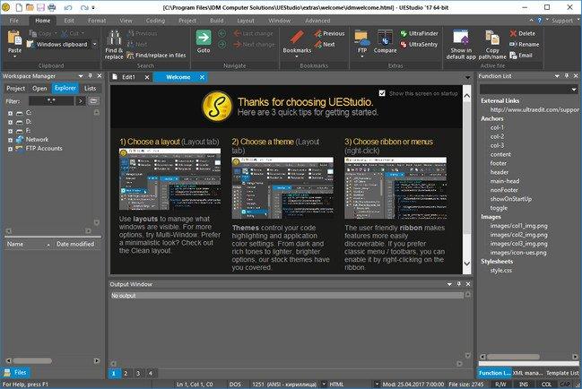 IDM UEStudio v17.20.0.08