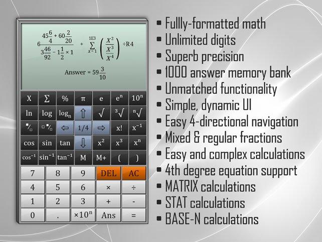 Full Scientific Calculator Pro v1.81