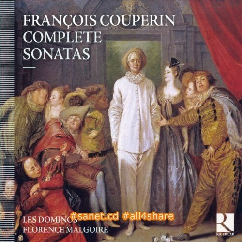 Florence Malgoire, Les Dominos - Couperin Complete Sonatas (2012) [24-88 FLAC]