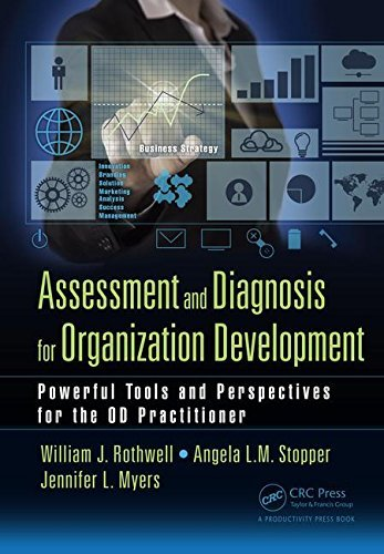 Assessment and Diagnosis for Organization Development Powerful Tools and Perspectives for the OD Practitioner
