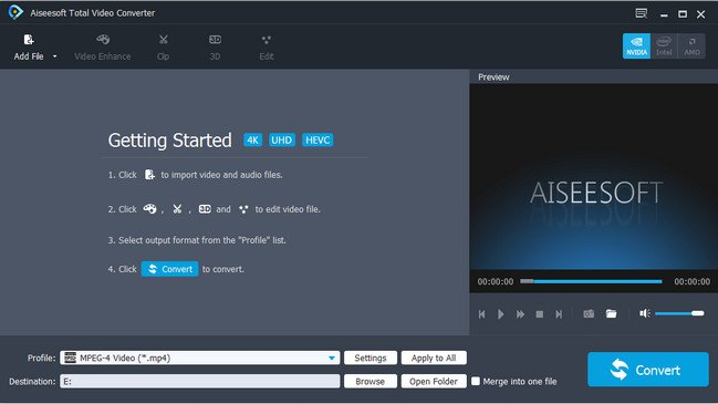 Aiseesoft Total Video Converter 9.2.18 Multilingual + (Portable)