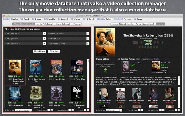 Coollector Movie Database 4.8.8 Retail macOS