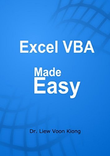 Excel VBA made Easy -Liew Voon Kiong