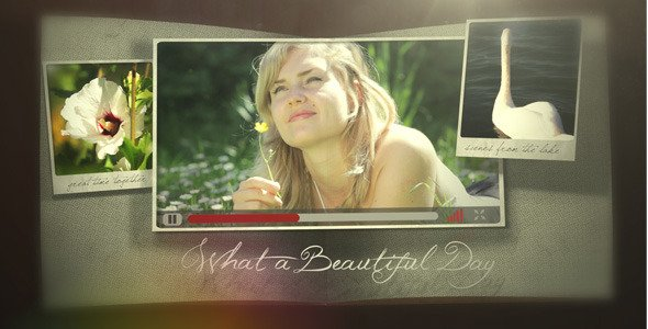 Photo Pop Out Book - Project for After Effects (Videohive)