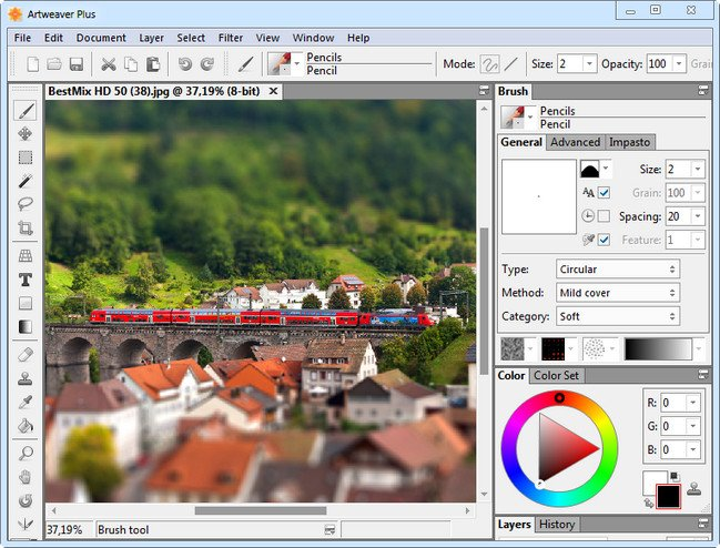 Artweaver Plus 6.0.3.14420 (x86x64) Multilingual + Portable