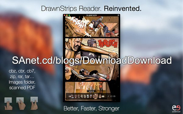 DrawnStrips Reader v3.1 Bilingual Retail macOS