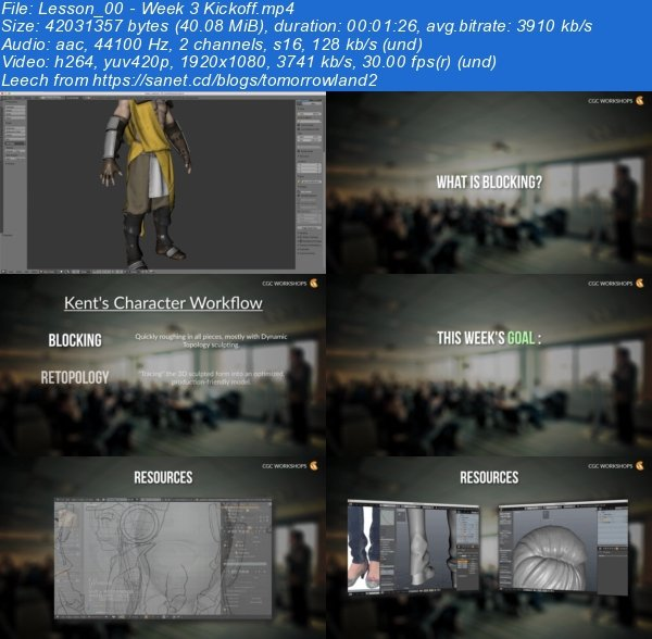 Realistic Character Modeling Blender : Download cgcookie modeling realistic characters with