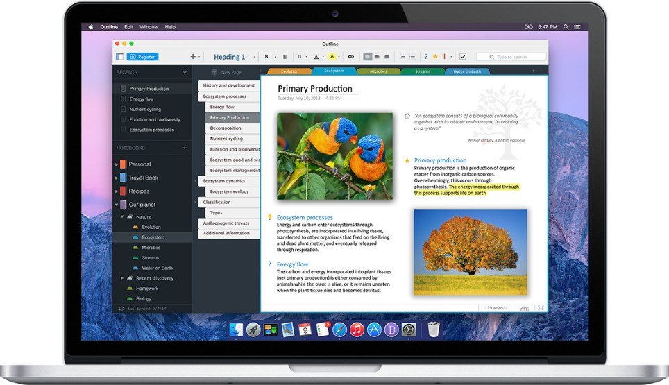 Change Page Color In Onenote Mac