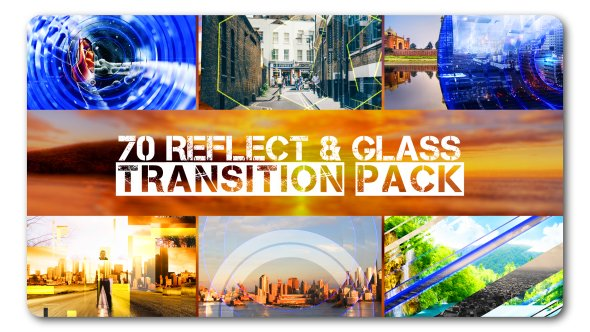 Transition Pack | Reflect N Glass - Project for After Effects (Videohive)