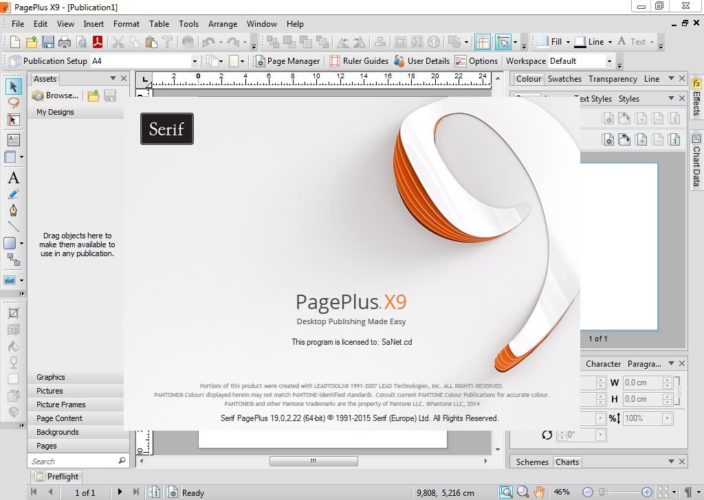 serif pageplus x9 system requirements