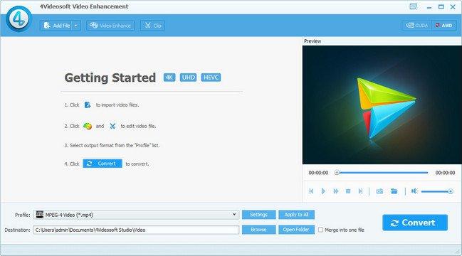 4Videosoft Video Enhancement v6.2.16 Multilingual + (Portable)