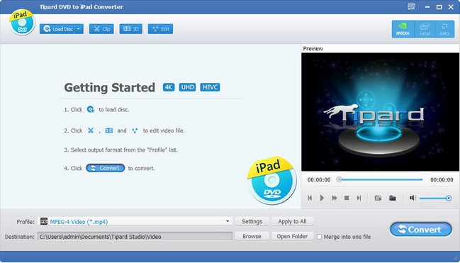 Tipard DVD to iPad Converter 9.2.18 Multilingual